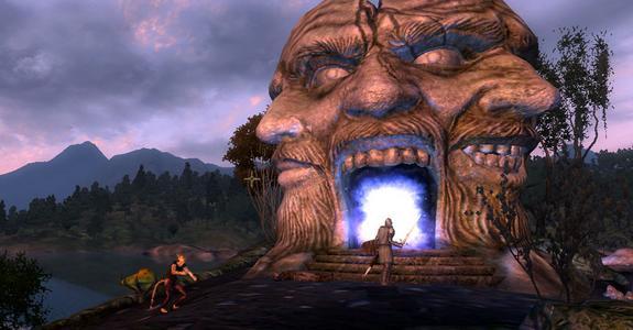 Oblivion gates scare the crap out of me!
